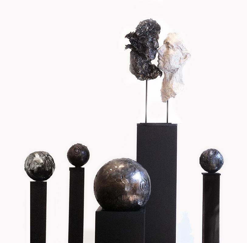 ISTALLAZIONE _ Specchi dell'Universo _ Museo Aem Milano _ Expo 2015